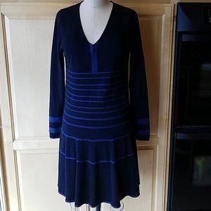 Max Studio cotton/rayon sweater dress